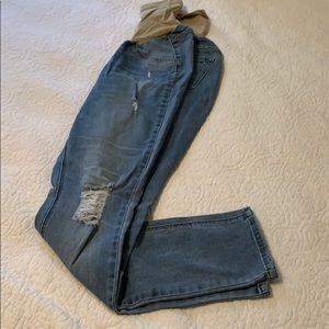 Jessica Simpson maternity denim jeans size medium